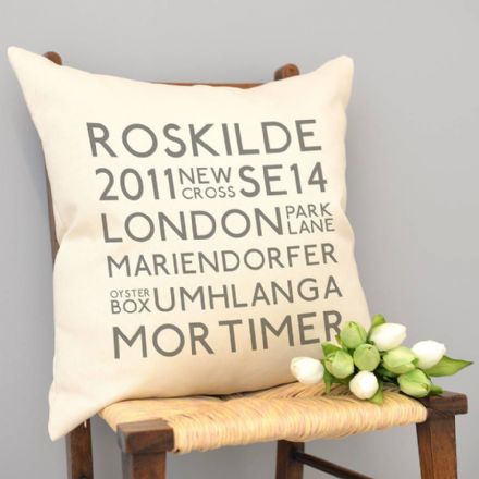 Personalised Best Memories Cushion